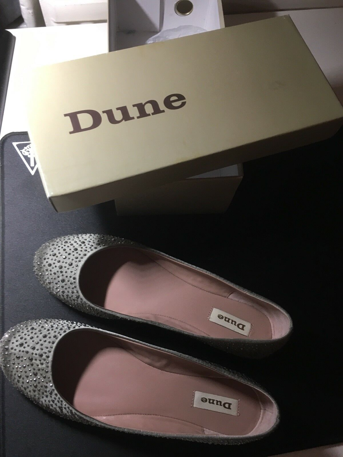 Dune ladies Cristal shoes Size 8UK