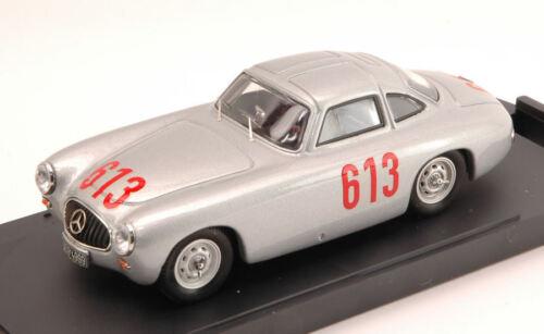 Kurrle 1:43 Model BANG Mercedes 300 SL #613 4th Mille Miglia 1952 Caracciola