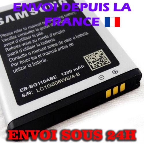 HANDY AKKU 1250mAh für SAMSUNG Galaxy Pocket 2 II Duos SM-G110M EB-BG110ABE