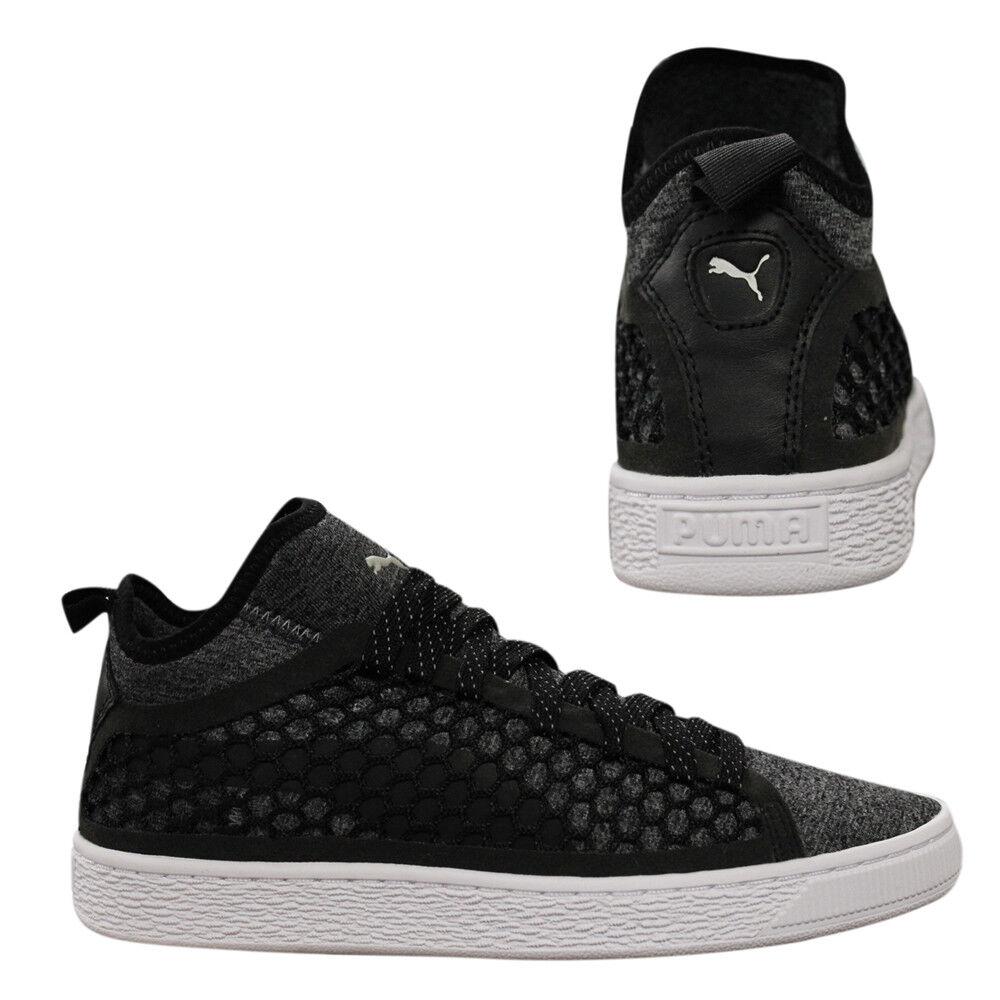 ded9b8e0897378 Puma Basket Classic NETFIT Mid Mens Lace Up Trainers Textile shoes 364249  01 U4