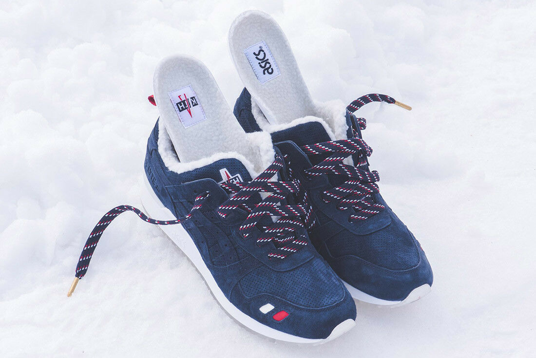 Kith x Moncler x Asics Gel Lyte III US 10 Just Ronnie Fieg Sneakers Shoes Schuhe