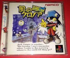 PS1 Kaze no Klonoa door to phantomile Japan PS PlayStation 1 F/S