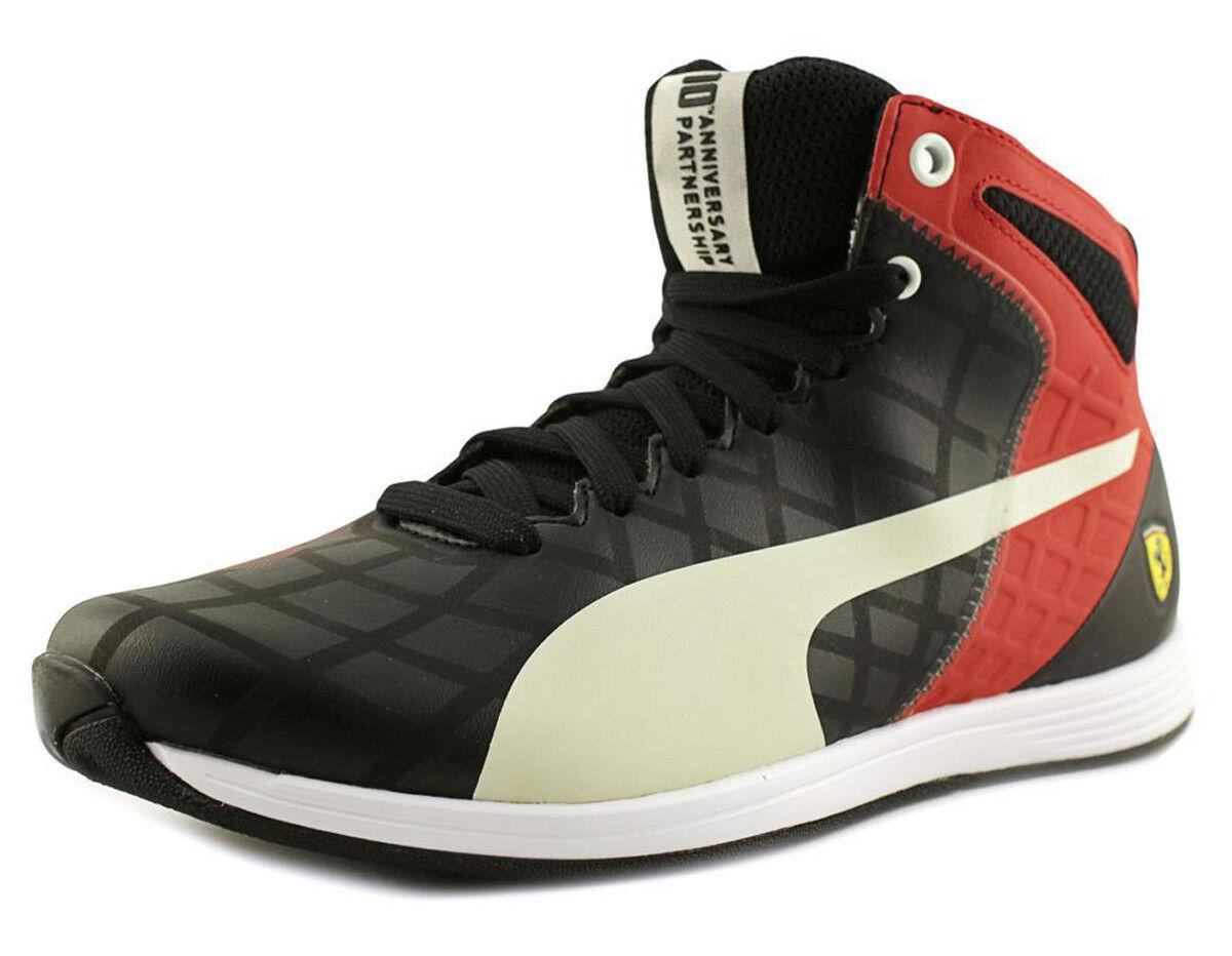 Puma EvoSpeed 1.4 SF Mid Men's Sneaker Size US 9 M Black   Red   White