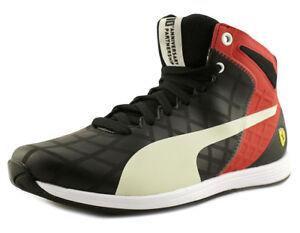 9a76bb454ba3 Puma EvoSpeed 1.4 SF Mid Men s Sneaker Size US 9 M Black   Red ...