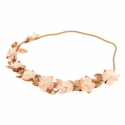 Kids' Clothing, Shoes & Accs Claire's Girl's Mini Rose Gold Flower Headwrap