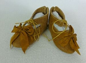 75mm-LEATHER-SHOES-for-ANTIQUE-DOLL-034-Jumeau-034-Shoes-Doll-Clothes