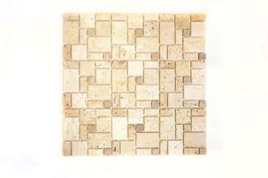 Mosaico-piastrella-TRAVERTINO-PIETRA-NATURALE-combinazione-Beige-43-1212-15-f-10-Tappetini