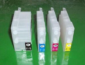 Refillable-HP-932-Black-HP-933-Cyan-Magenta-Yellow-Cartridges-with-chips