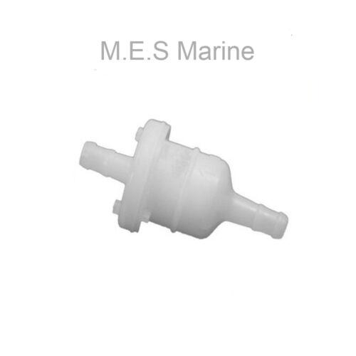 TOHATSU MFS 4 5 6 9.8 15 20HP 4 STROKE OUTBOARD INLINE FUEL FILTER 369-02230-0