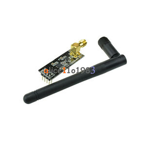 2PCS-2-4G-NRF24L01-PA-LNA-SMA-Antenna-Wireless-Transceiver-communication-module
