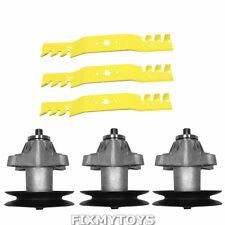"Extreme Blade /& Spindle Kit 50/"" Deck Troy Bilt Mustang XP RZT50 942-04053-X OEM"