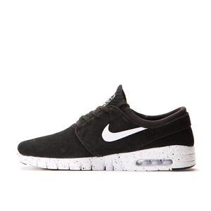 Nike STEFAN JANOSKI MAX L Black White Speckled Sole 685299-002 (447) Men's Shoes