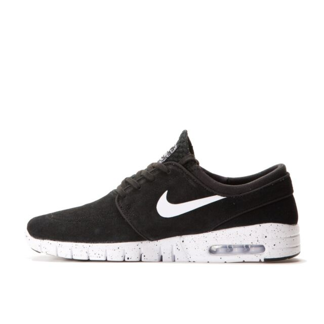 the best attitude 35c39 96e18 Nike STEFAN JANOSKI MAX L Black White Speckled Sole 685299-002 (447) Men s