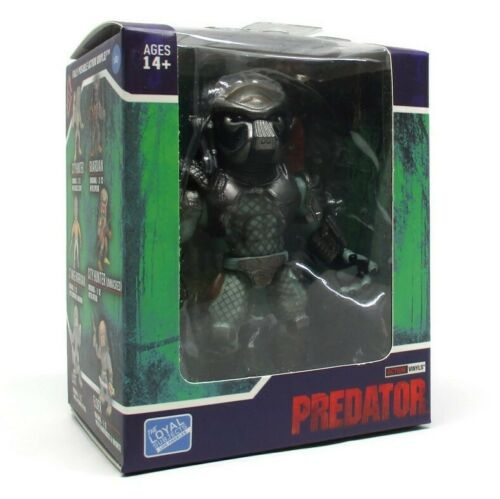 1//48 Chase The Loyal Subjects PREDATOR Action Vinyls Wave 1 WARRIOR GRAYSCALE