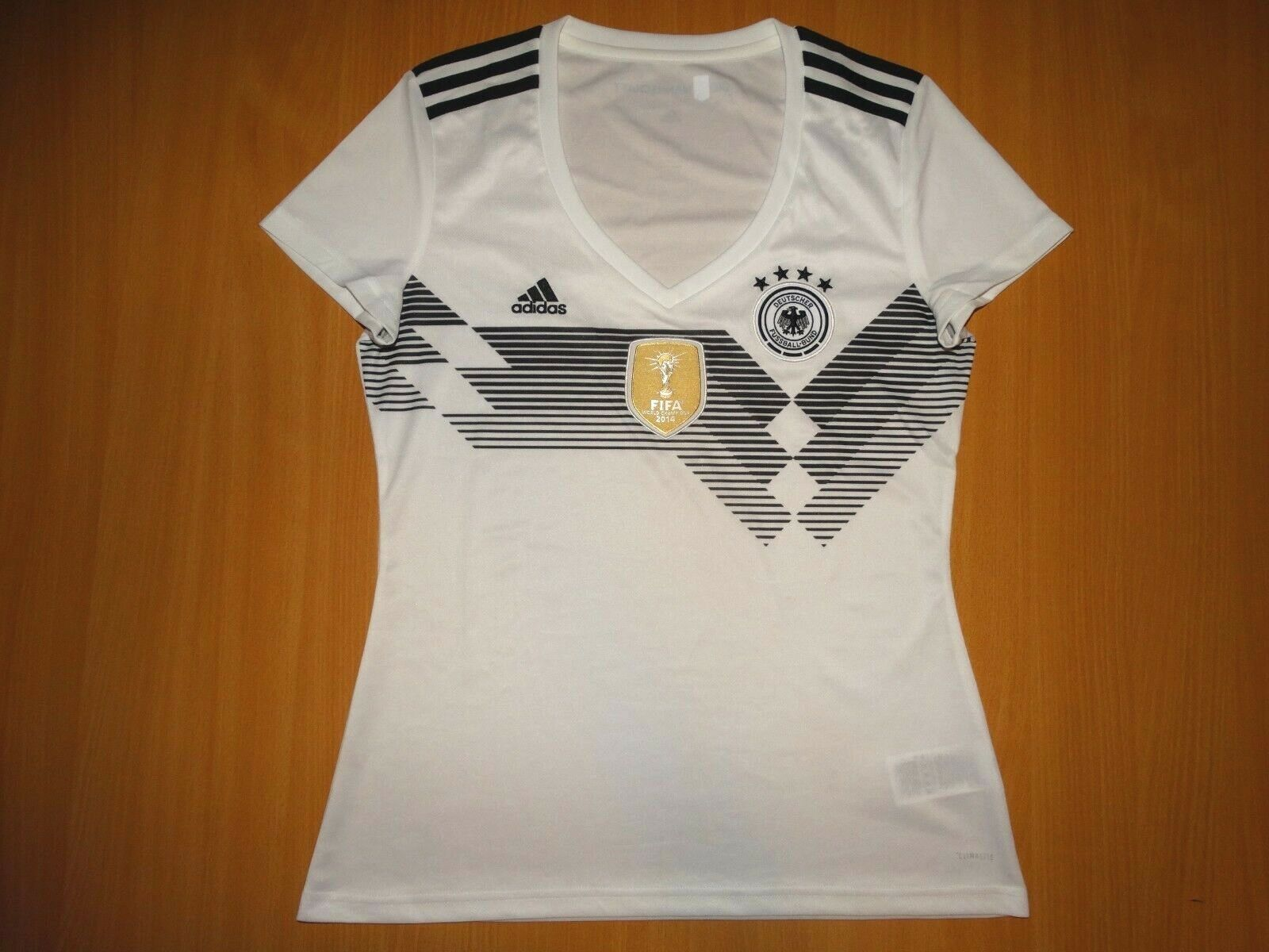 RARE Deutschland GERMANY 2018 2018 2018 2019 shirt trikot ADIDAS L HOME Damen 2e5af7