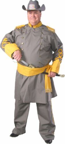 CIVIL WAR CONFEDERATE OFFICER  Standard /& 2X Size Theatrical Quality Costume