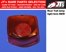 REAR TAIL LIGHT LENS BACK BRAKE LAMP LENS to suit HONDA XL185S 79-81 AFTERMARKET