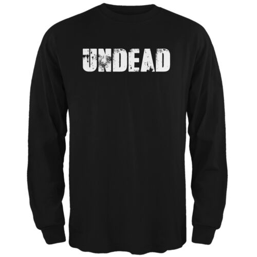 Halloween Undead Black Adult Long Sleeve T-Shirt