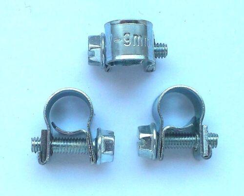 Fuel pipe hose clamp 7-9 mm for Webasto /& Eberspacher Per 4 17