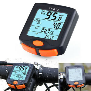 Wireless-Mountain-Bike-Cycling-Bicycle-LCD-Computer-Odometer-Speedometer-Backlit