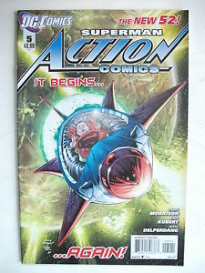 ACTION COMICS  5 THE NEW DC 52 2012 NM - Stockport, United Kingdom - ACTION COMICS  5 THE NEW DC 52 2012 NM - Stockport, United Kingdom