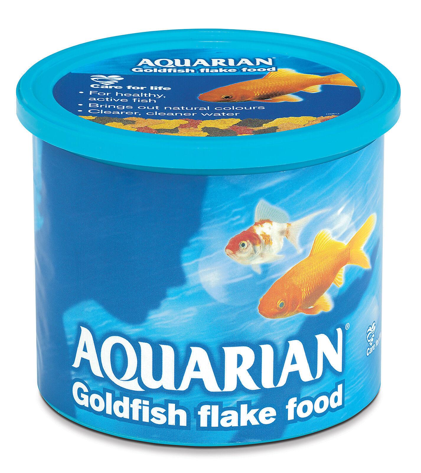 Aquarian 2KG Coldwater Fish Flake goldfish Aquarium Tank (10 x 200g)
