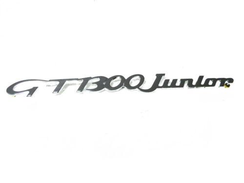 Fregio scritta sigla ALFA ROMEO GT 1300 JUNIOR 237mm badge sign emblem escudo