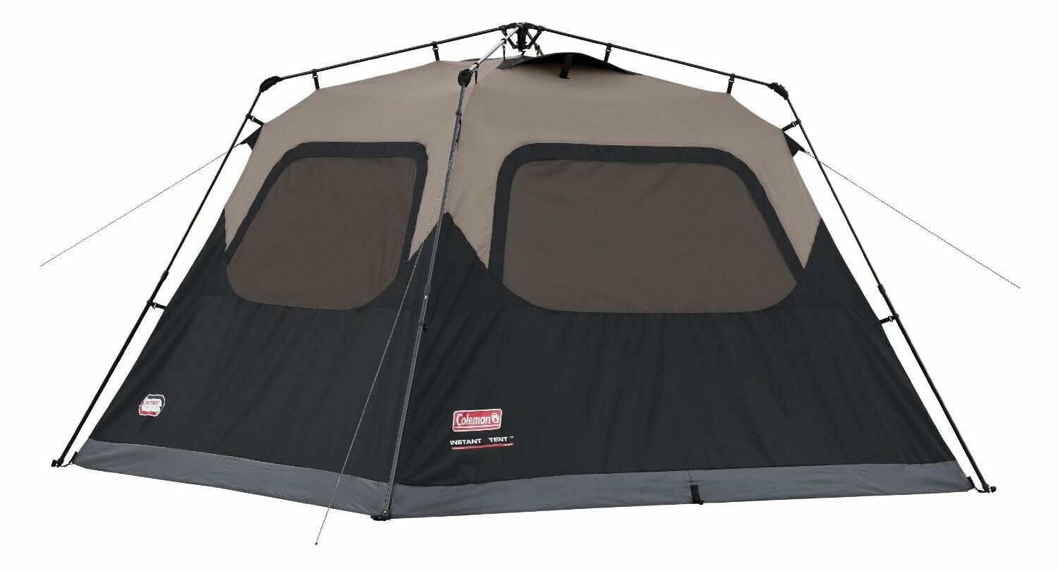 New and Sealed  Coleman Instant Tent 6 Person  - Top Rated Tent  Ships Fast