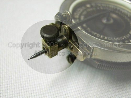 Reproducer Needle Thumbscrew for Victor Exhibition Reproducers