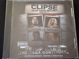 Clipse-Presents-Re-Up-Gang-The-Saga-Continues-SEALED-NEW-CD-2008-MIXTAPE