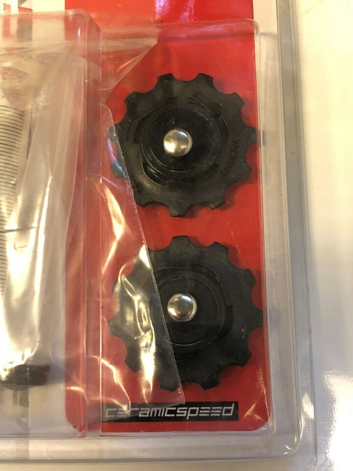 Gear, Sram Red Ceramicspeed pulley hjul *NYE*