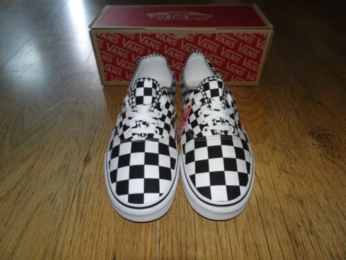 white Checkerboard Uk Black Bnib Sizes More 11 Available size Trainers Vans 6RqwE5P