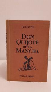 Cervantes-D-Quijote-de-La-Mancha-1950-Edicion-Privat