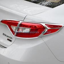 New Chrome Rear Light Cover Trim For Hyundai Sonata LF 2015 2016