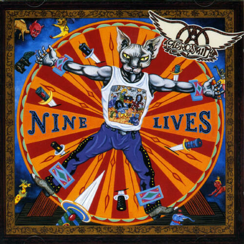 1 of 1 - Aerosmith - Nine Lives [New CD] Bonus Track, Germany - Import