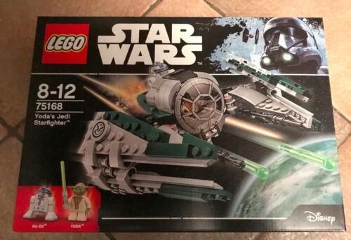 BOITE SET LEGO STAR WARS NEUF VAISSEAU 75168 YODA/'S STARFIGHTER YODA R2-D2