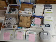 Huge Lot Of 14 Brother Label Printers P Touch Etc R049
