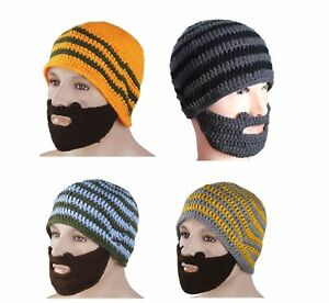 Beard-Beanie-HAT-Head-and-Face-Warmer-Hand-Made-Snowboarding-Camping-Skiing