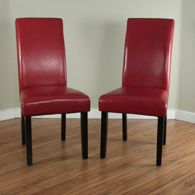 Dining Chairs Set 2 Pcs Upholstered