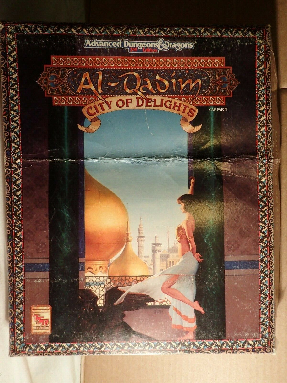 Al-Qadim City of Delights (TSR 1091) Advanced Dungeons & Dragons 2ED Boxed set