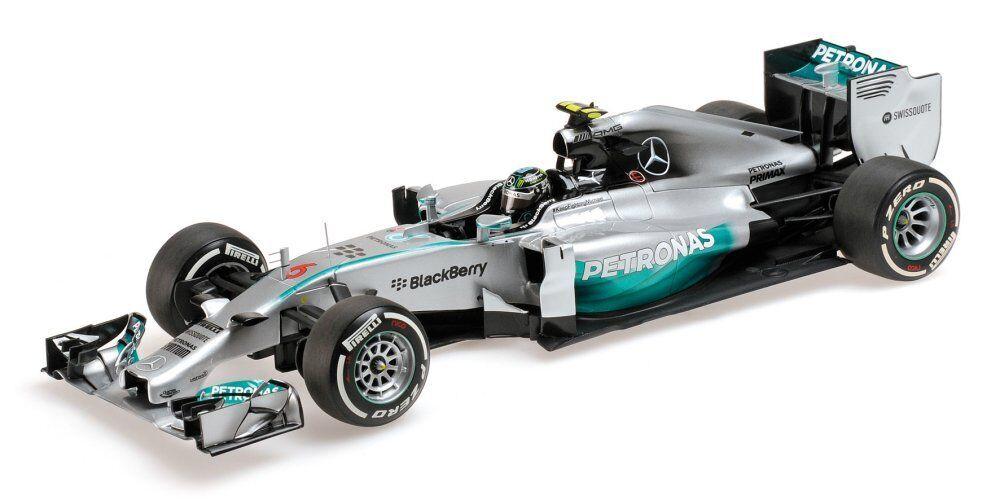 Mercedes F1 W05 Hybrid AMG F1 Team Petronas N. Rosberg 2014 1 18 Model