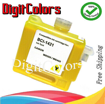 Cartridge fits BCI-1421 Canon W8200PG W8400 Magenta m pigment ink not oem