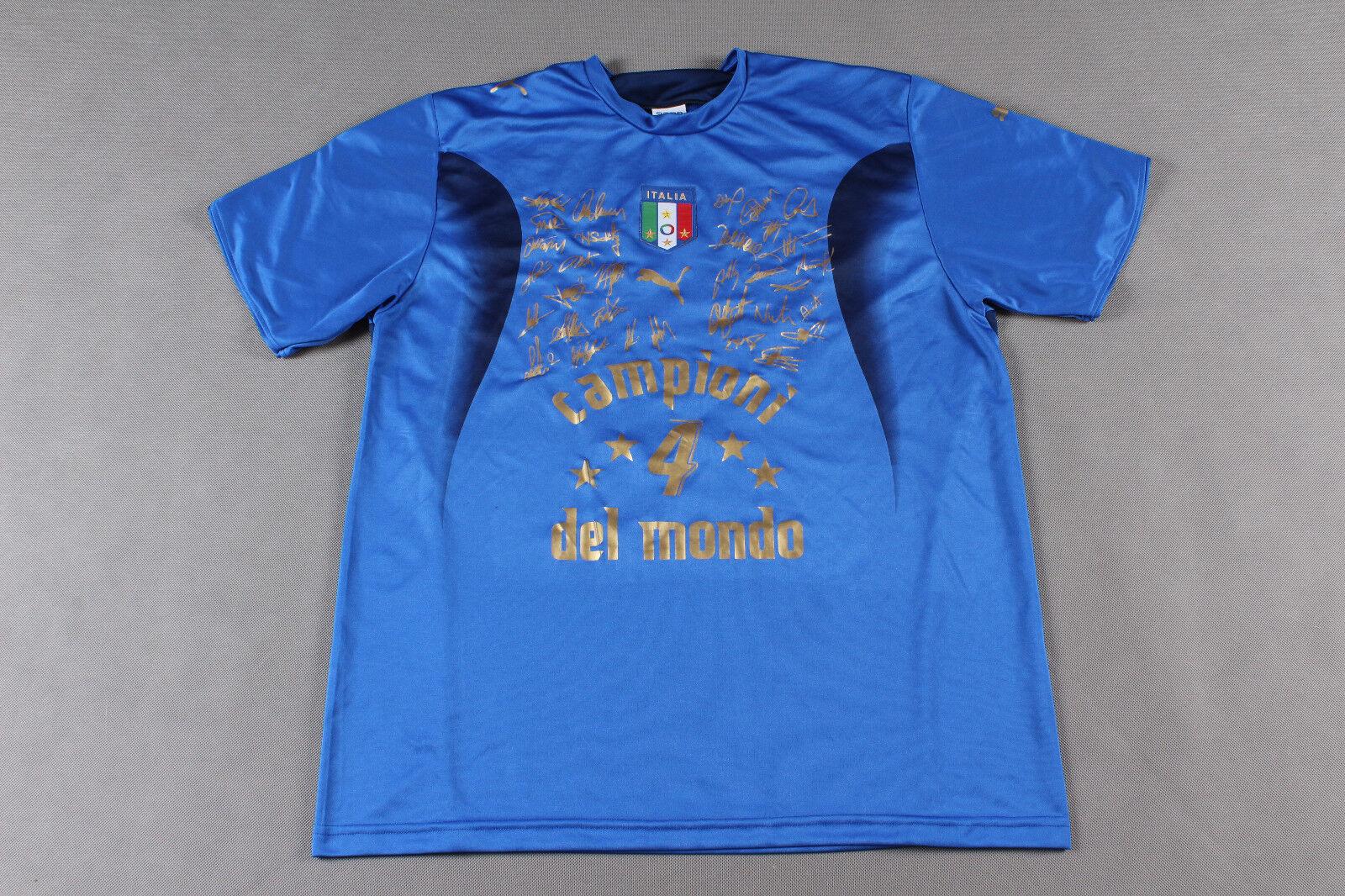 Maillot Maglia Football Shirt Italie  Italia Campioni Del Mondo 2006 Sz XL