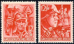 DR-1945-MiNr-909-910-909-10-tadellos-postfrisch-Mi-80