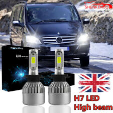 Mercedes Viano W639 Blue 4-LED Xenon Bright Side Light Beam Bulbs Pair Upgrade