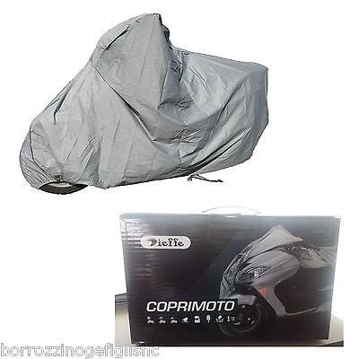 Telo coprimoto senza accessori compatibile con BMW K1200 GS impermeabile GS Adventure materiale California in grigio