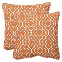 Outdoor 2-piece Square Throw Pillow Set - Starlet