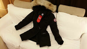 BRAND-NEW-BLACK-034-RED-LABEL-034-CANADA-GOOSE-TRILLIUM-SMALL-ARCTIC-PARKA-JACKET
