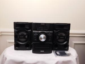 Image Is Loading Sony Bookshelf Mini HiFi Stereo Component System AM