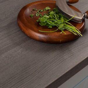 Küchenarbeitsplatte dunkles Holz 4.1m × 600 × 38mm Resopal ...